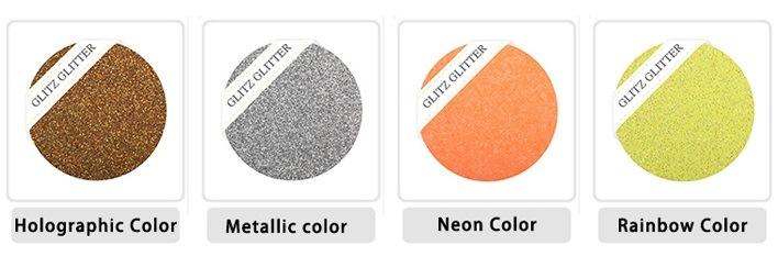 Fluorescent Glitter Powder Used for Nail Polish