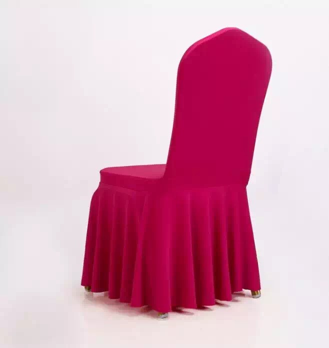 Direct Facotry Sales Printed Spandex Chair Cover