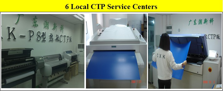 Sensitive CTP Printing Plate