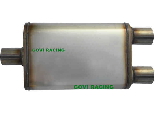 4''x9''x18''x24'' Car Truck Muffler Exhaust Pipe Mirror or Unpolished Avaialble