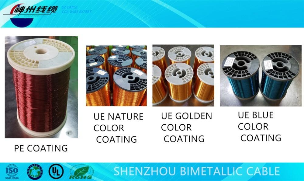 Enamel Copper Magnet Wire Substitute-Enameled CCA Wire
