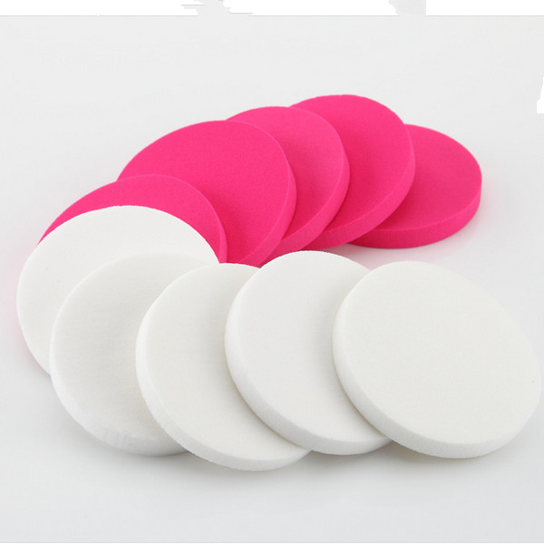 10 PCS /Bag Wholesale Round Makeup Sponge From China Manufacture