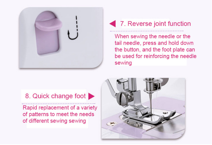 Chinese Supplier of Mini Sewing Machine (Htj-505A)