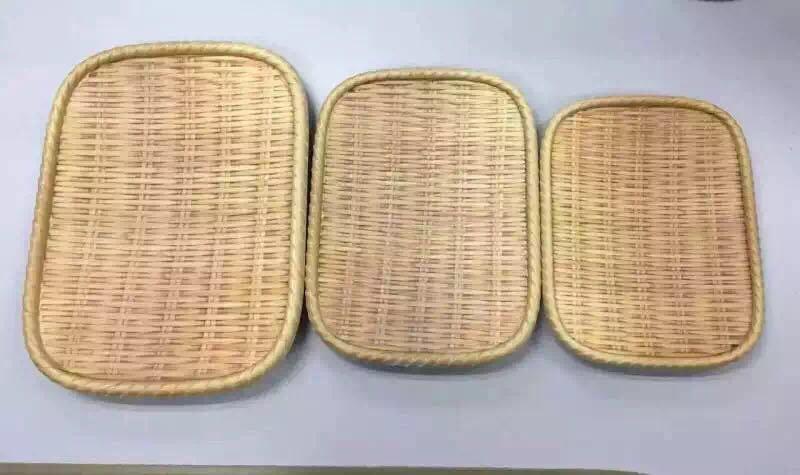 Melamine Bamboo Style Plate/Soba Plate/Dinner Plate (NK13713-08)