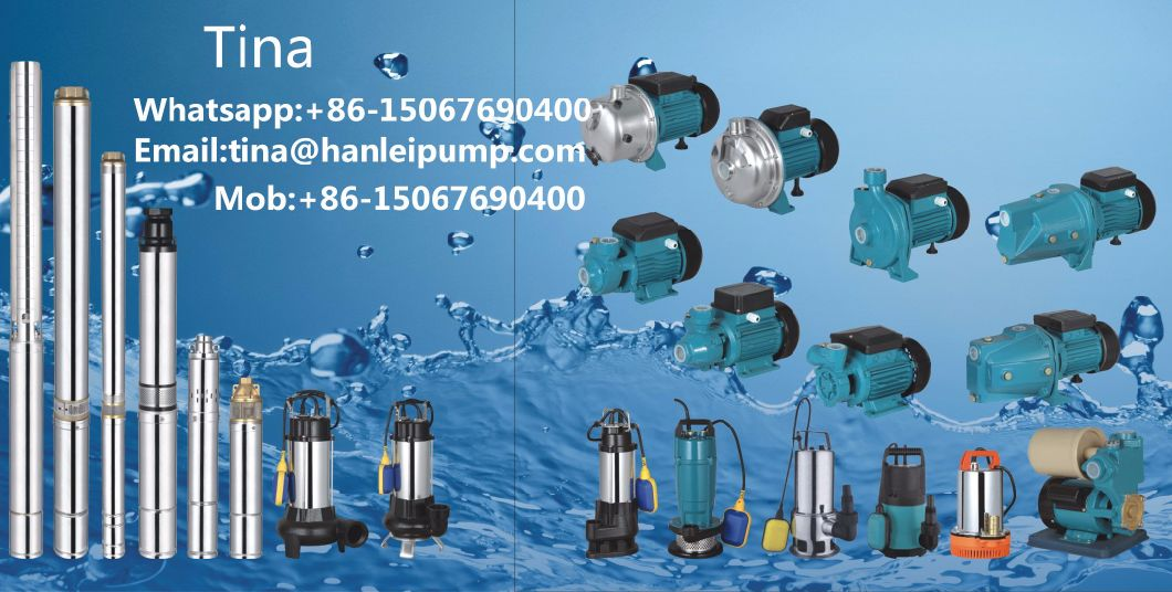 Vortex Water Pump with Best Quality 0.37kw (QB60)