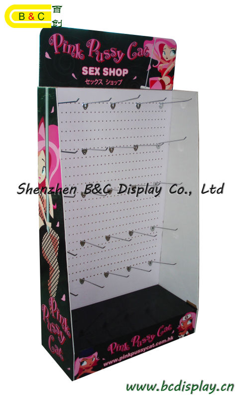 High Quality with Cheap Price Paper Floor Display with SGS (B&C-B001)