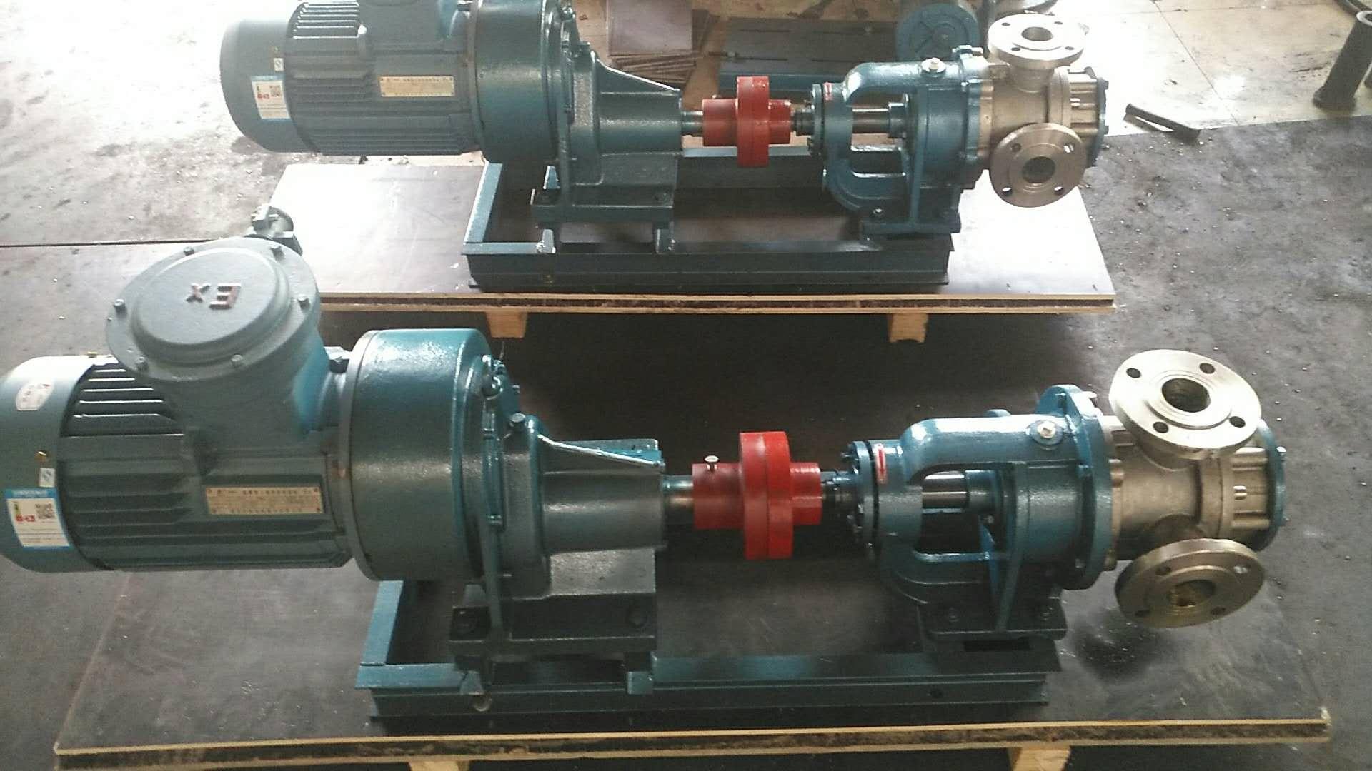 high viscosity gear pump