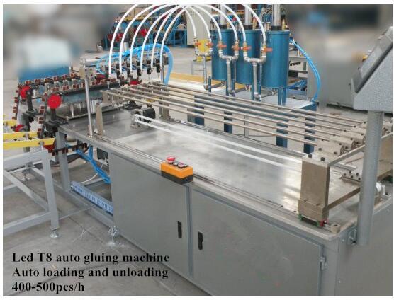 LED T8 Tube Auto Coating Machine
