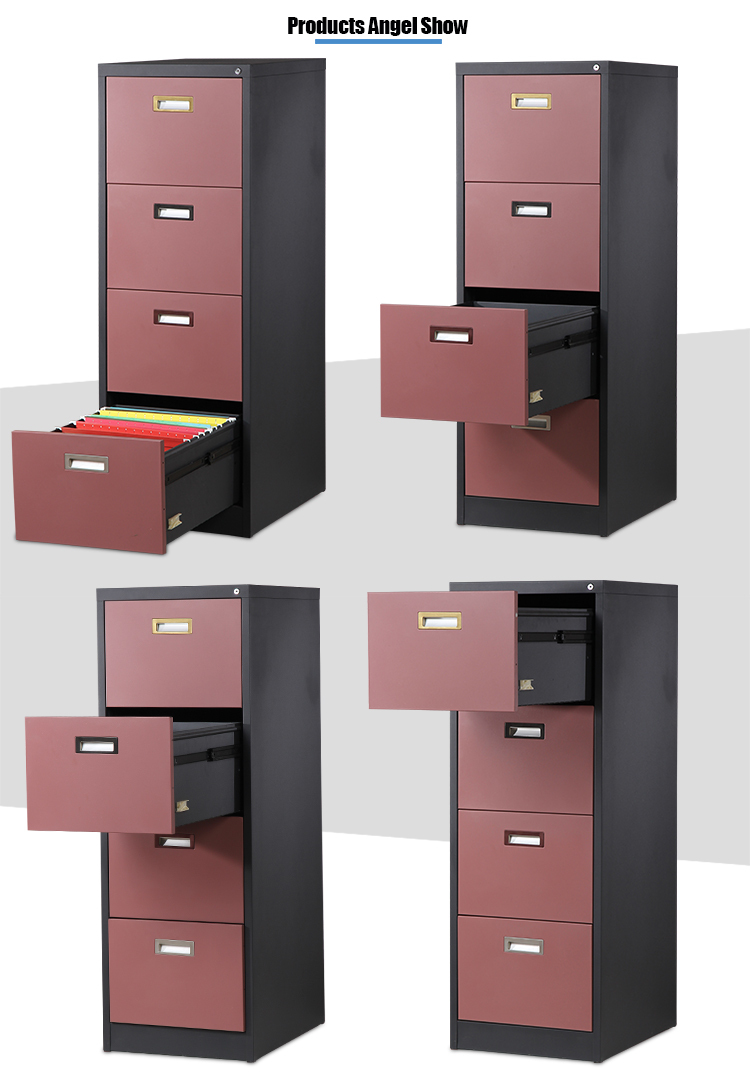 4 Drawer Godrej Storage Cabinet