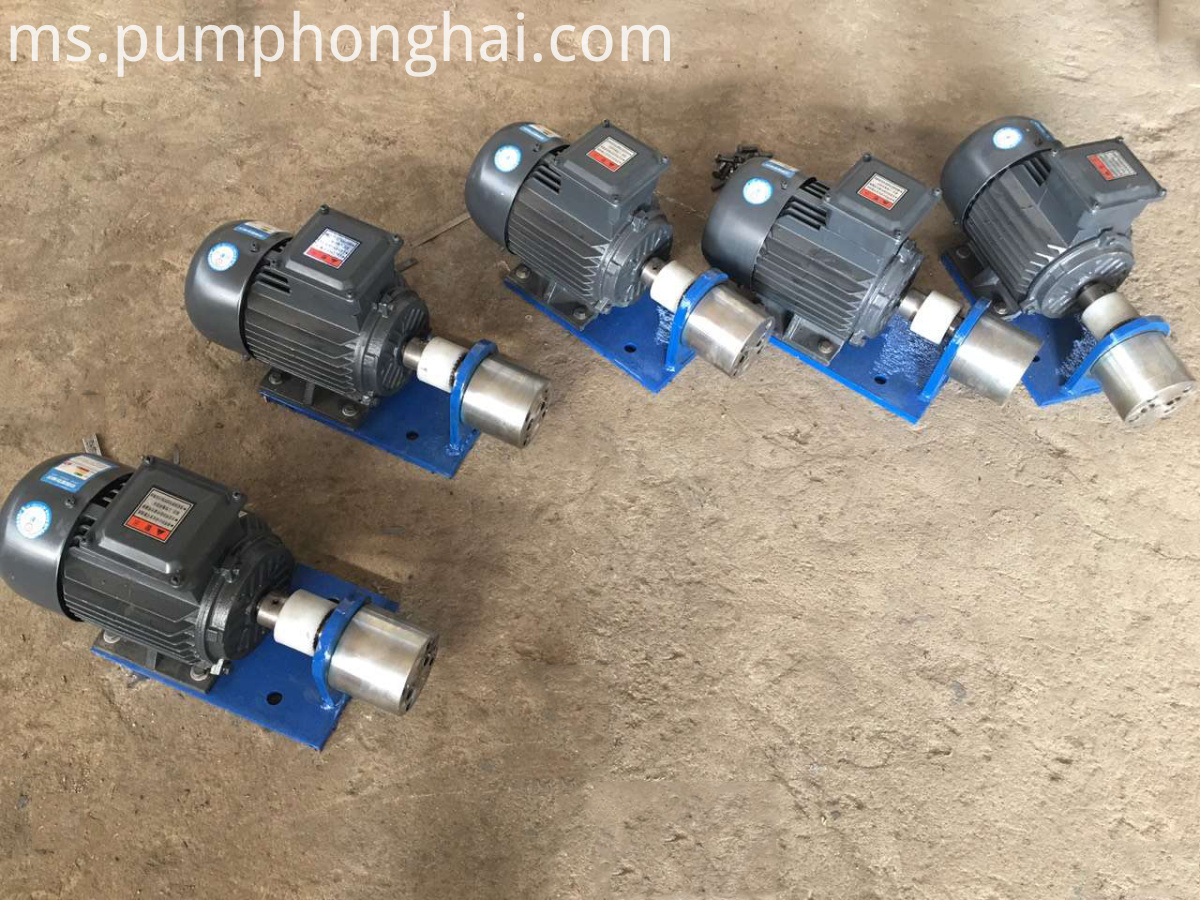 Internal gear pump gear pump