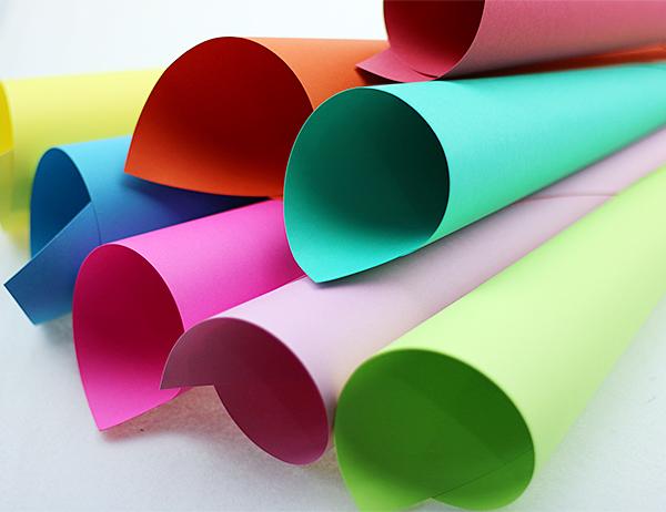 Upmarket Wood Pulp Color Paper