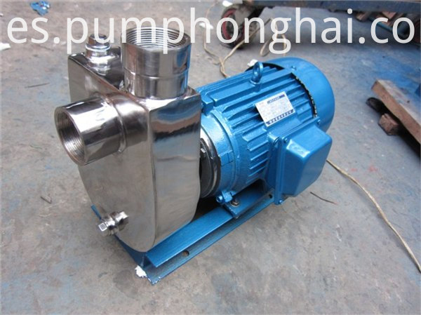 pump driven by three phase motor