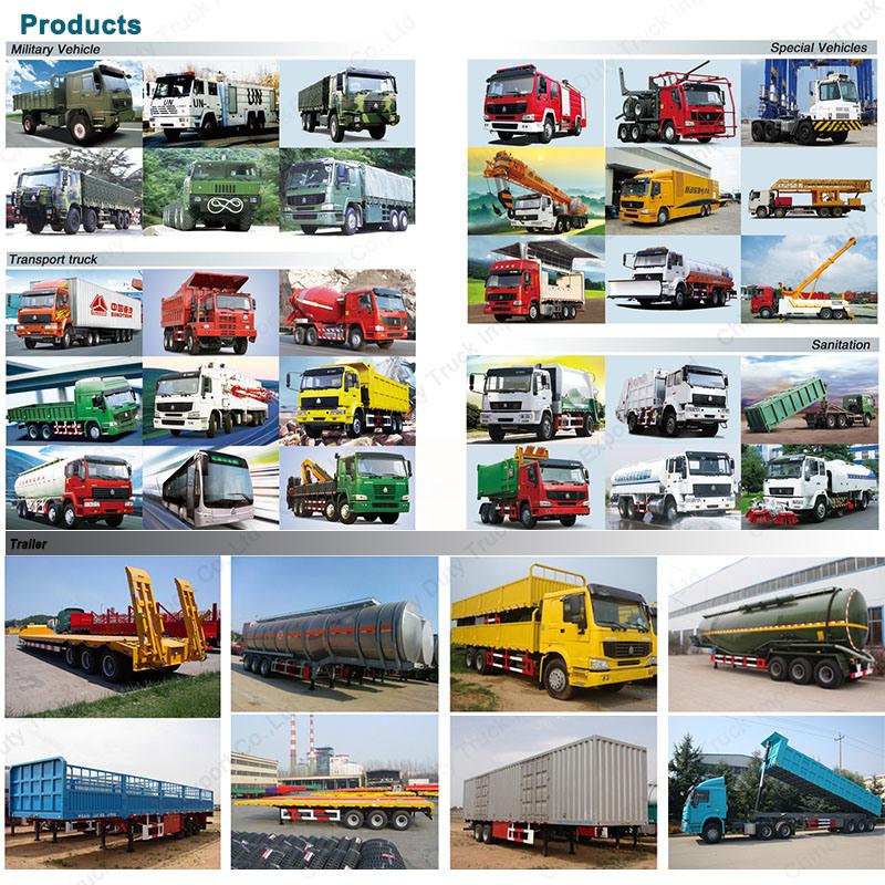 China 8X4 371HP Heavy Tipper Dump Truck