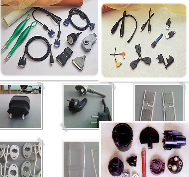 Plastic Injection Molding Machine for Ad AC Plug