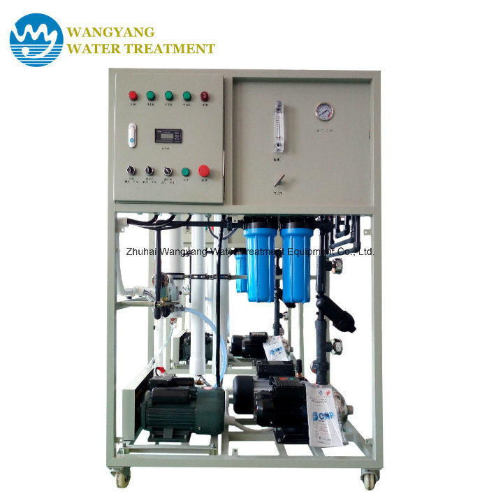 100lph Two Stage Reverse Osmosis System for Ship