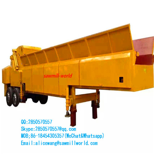Good Quality Wood Log Crusher Cutting Machine