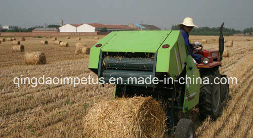 Factory Direct Price Round Hay Baler with Twine Wrap