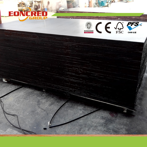 18mm Waterproof Plywood Film Faced for Construction