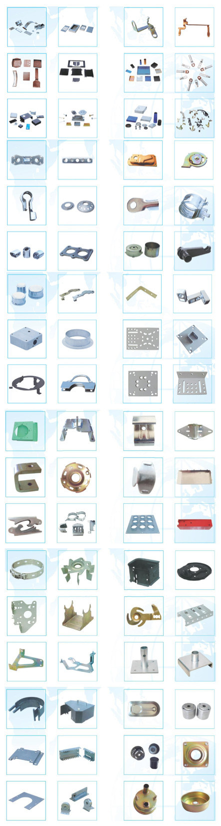 High Quality Mototrcycle Parts Metal Stamping Parts Auto Spare Parts Customized.