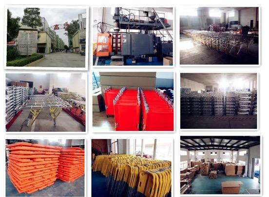 High Quality Plastic Emergency Transfer Scoop Strecher