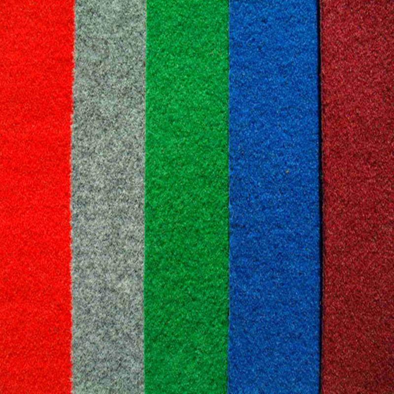 Nonwoven Polyester Plain Velour Jacquard Capet
