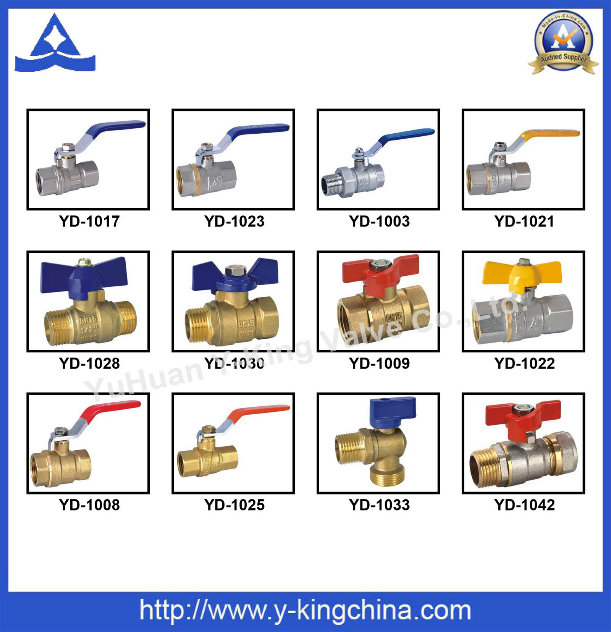 Forged Brass Water Ball Valve (YD-1021)