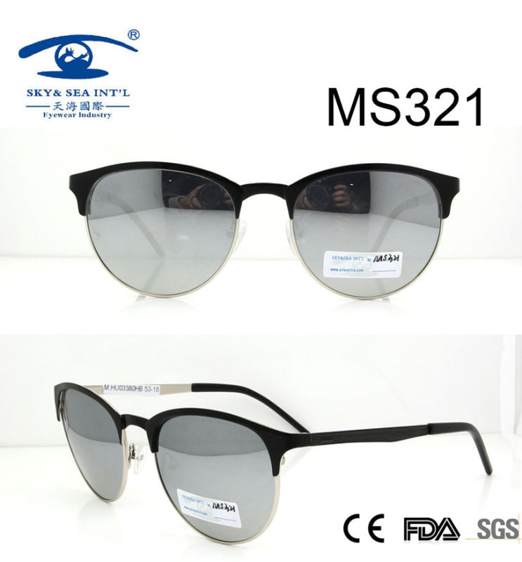 Round Shape New Arrival Metal Sunglasses (MS321)