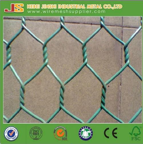 Cheap Chicken Rabbit Galvanized Hexagonal Wire Netting