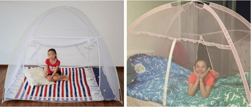 Travel/Outdoor Convenient Self-Supporting Mosquito Net