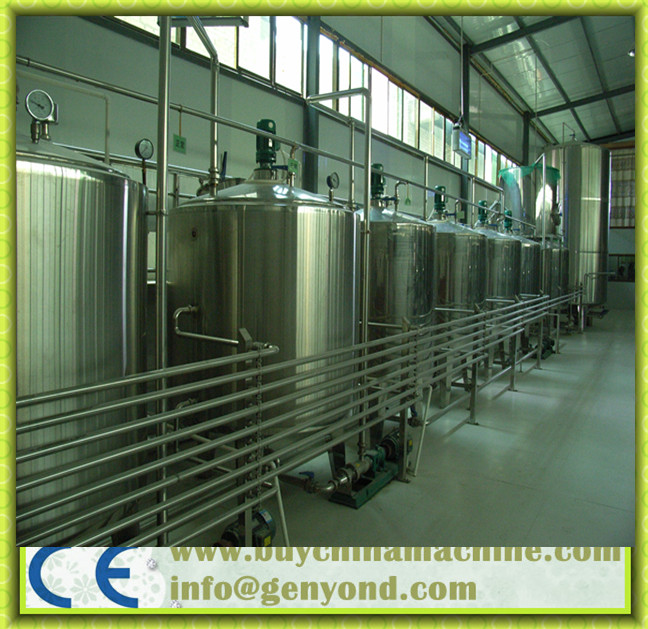 Stainless Steel Vinegar Production Machines (316L SS)