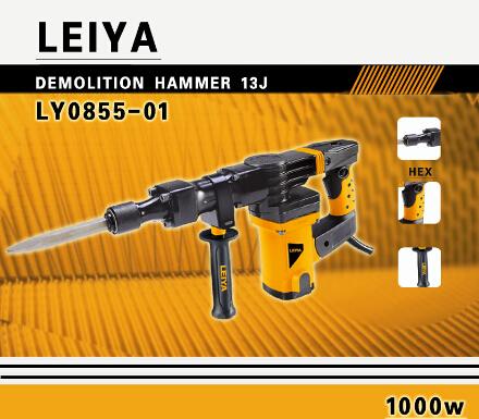 17mm 1000W Electric Breaker Hammer (LY0855-01)
