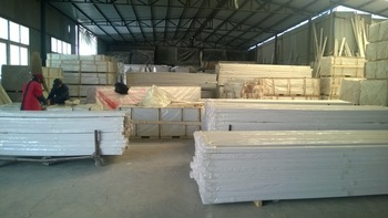 White-Coated Pine Wood Shutter Louver Blade