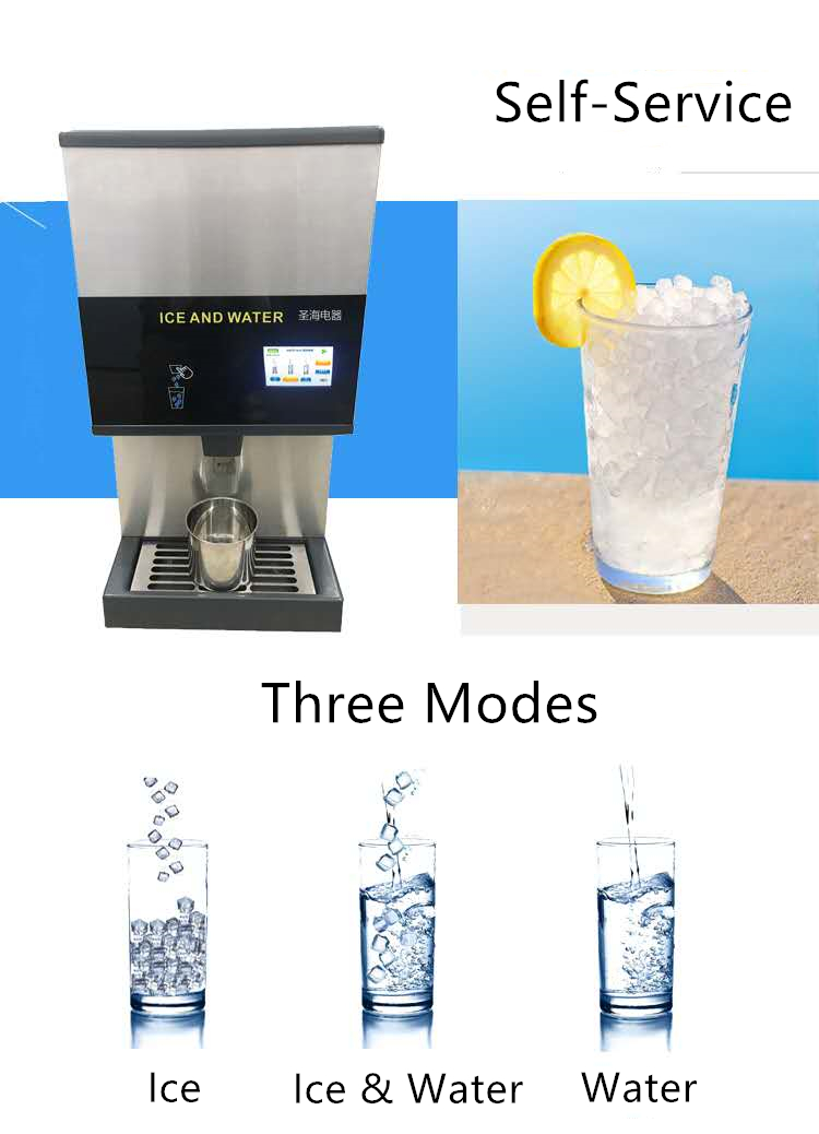 counter ice machine