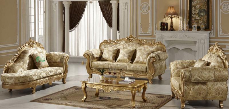 Classic Fabric Sofa for Living Room Furniture (D929K)