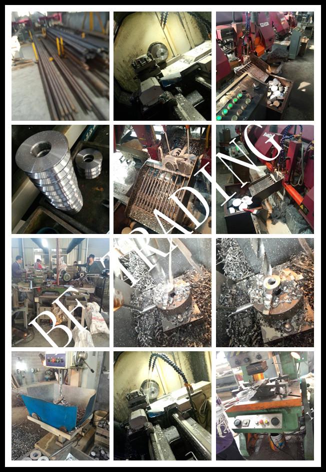V U Groove Type Hanger Roller Orbit Wheel Track