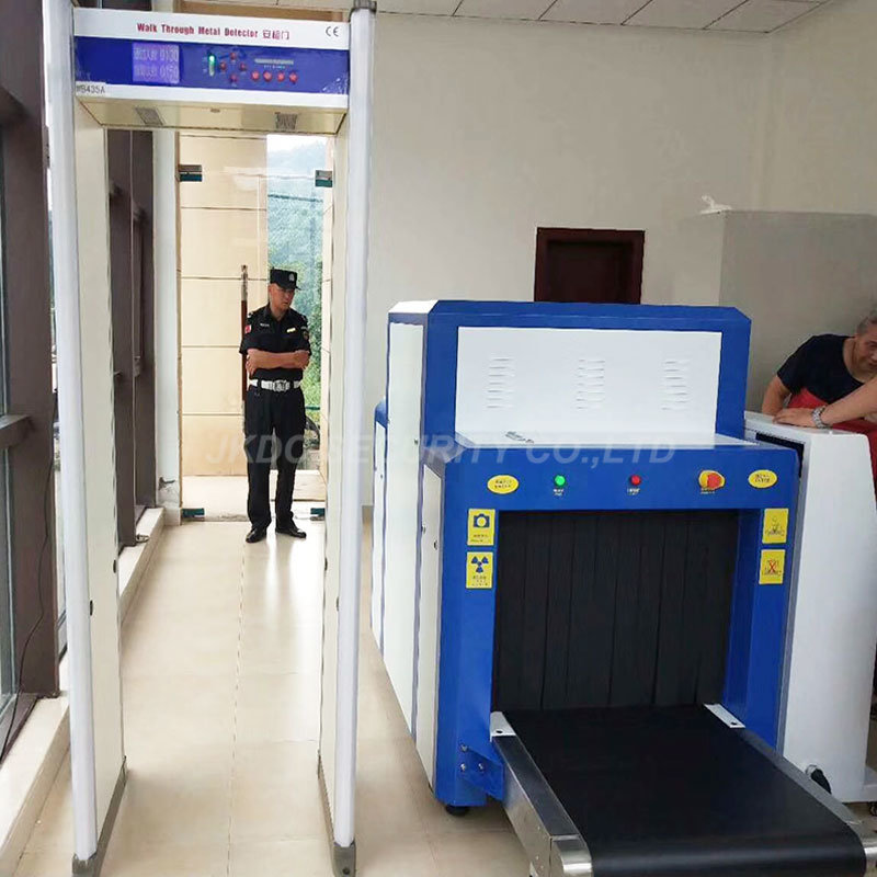 100*80cm Large Tunnel Size X Ray Parcel Baggage Inspection Security System Scanner