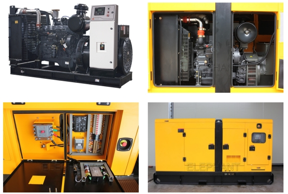 176kw 220kVA Sdec Engine with Silent and Open Generating