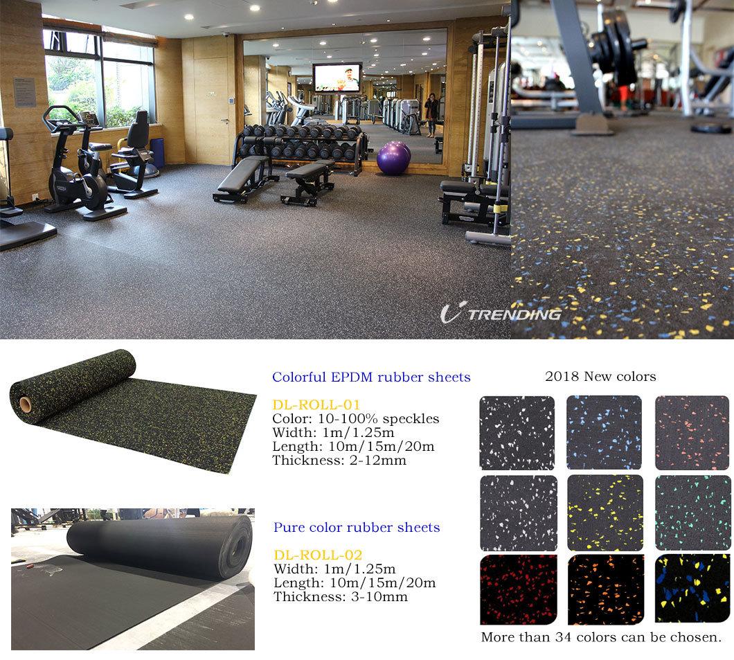 Superb Rubber Floor Tiles Rolls Interlocking with Best Price