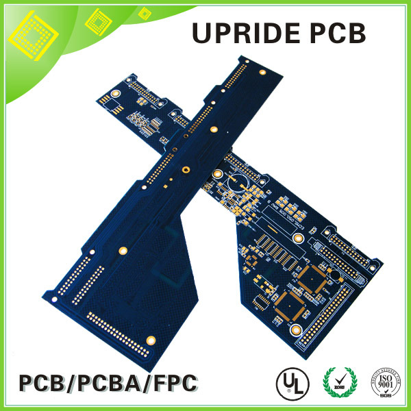 Multiple Functions Electronic PCB Circuit Board Gold Immersion PCB Irregular Shape Board
