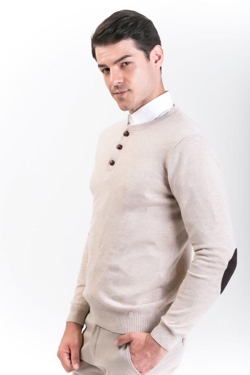 Men's Fashion Cashmere Blend Sweater 18brawm010