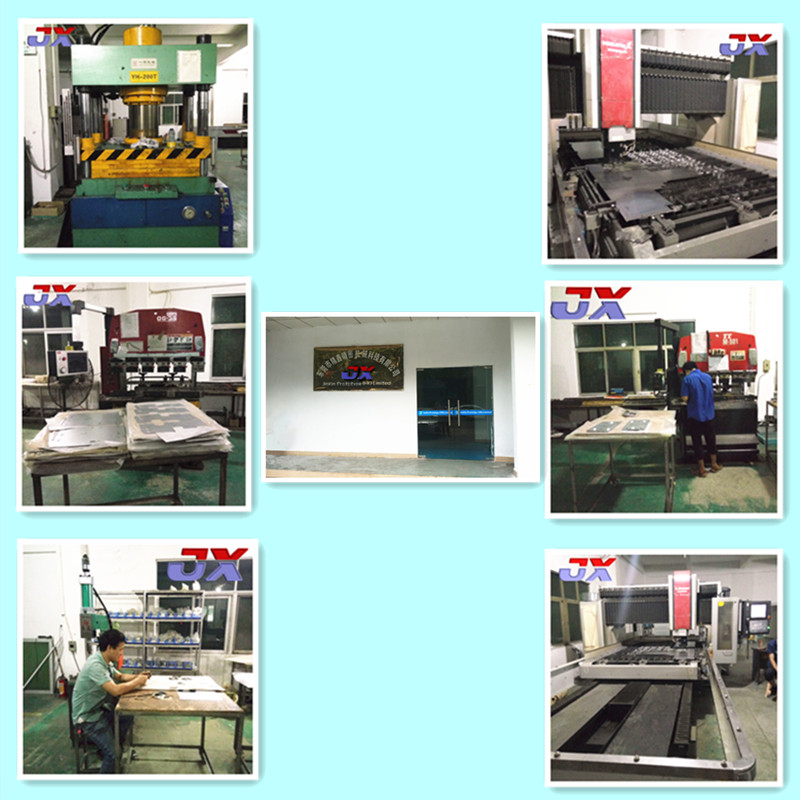 China Precision High Precision Sheet Metal and Metal Laser Cutting Part Service