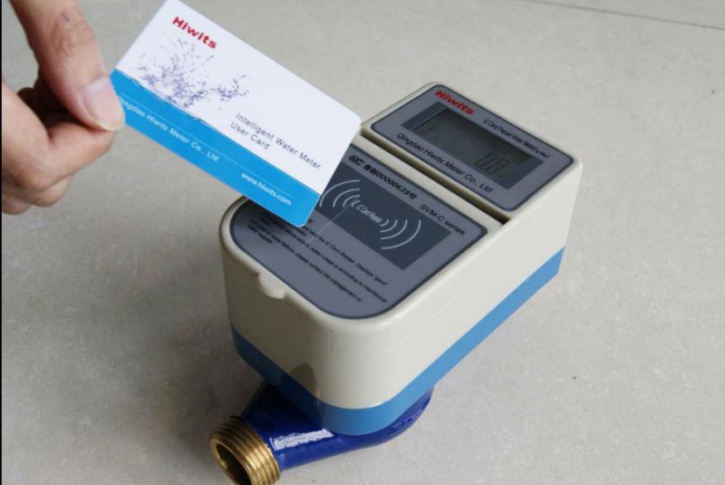Smart Digital Reading Prepaid Household Water Meter