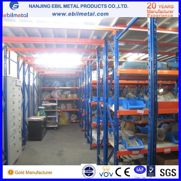 Steel Multi-Tiers Mezzanine Rack / Shelving for Factory / Warehouse Storage