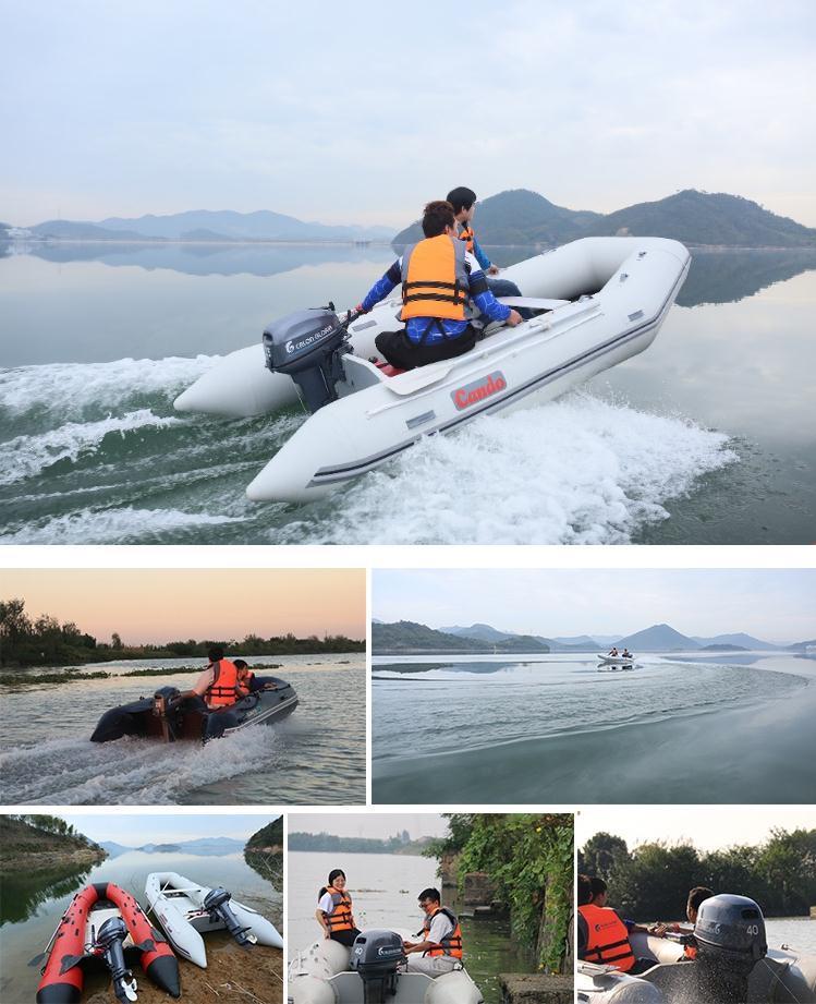 Outboard Motor 40 HP 2 Stroke Endure Motor Boat Outboard