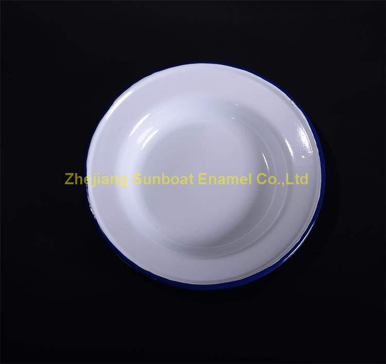 16cm Enamel Round Pie Dish