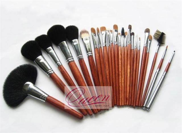 Goat Hair 24PCS Professional Cosmetic Makeup Brush Tool Kits