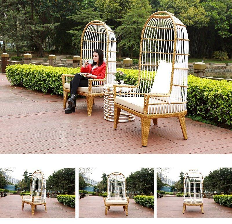 2018 New Rattan Garden Furniture Outdoor Chair Set-Q195