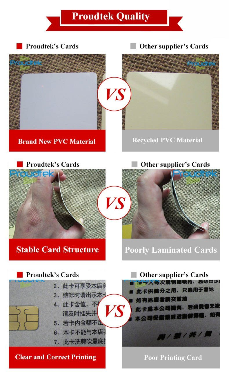 RFID Customized Card Irregular Shape Card with Unique Design for Promotion