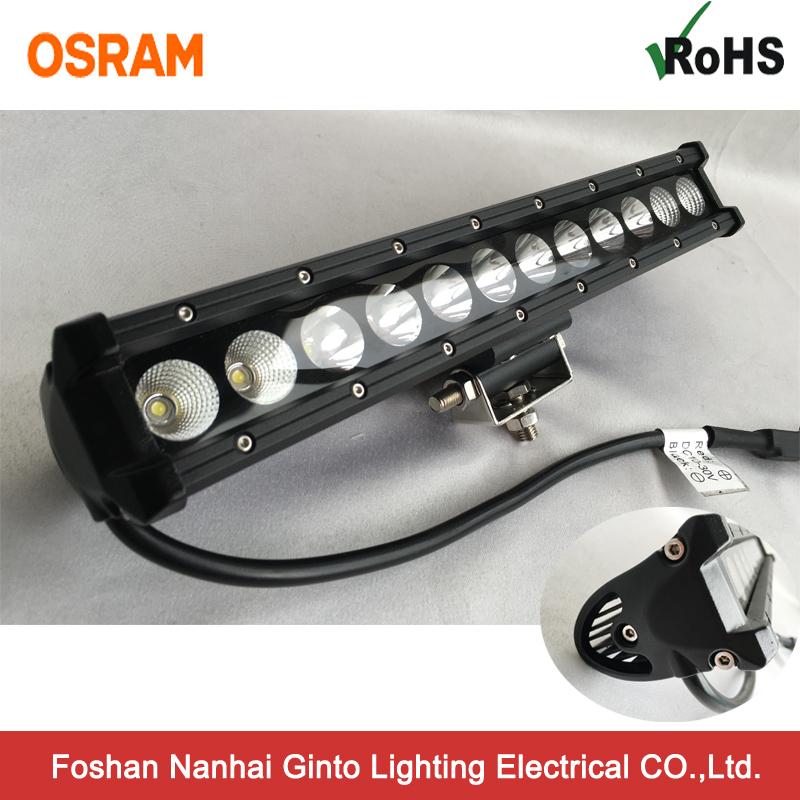 Single Row 30W LED Light Bar for off Road