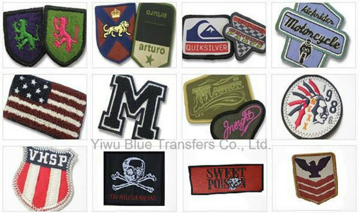 Clothing Woven Labels with Iron on Back